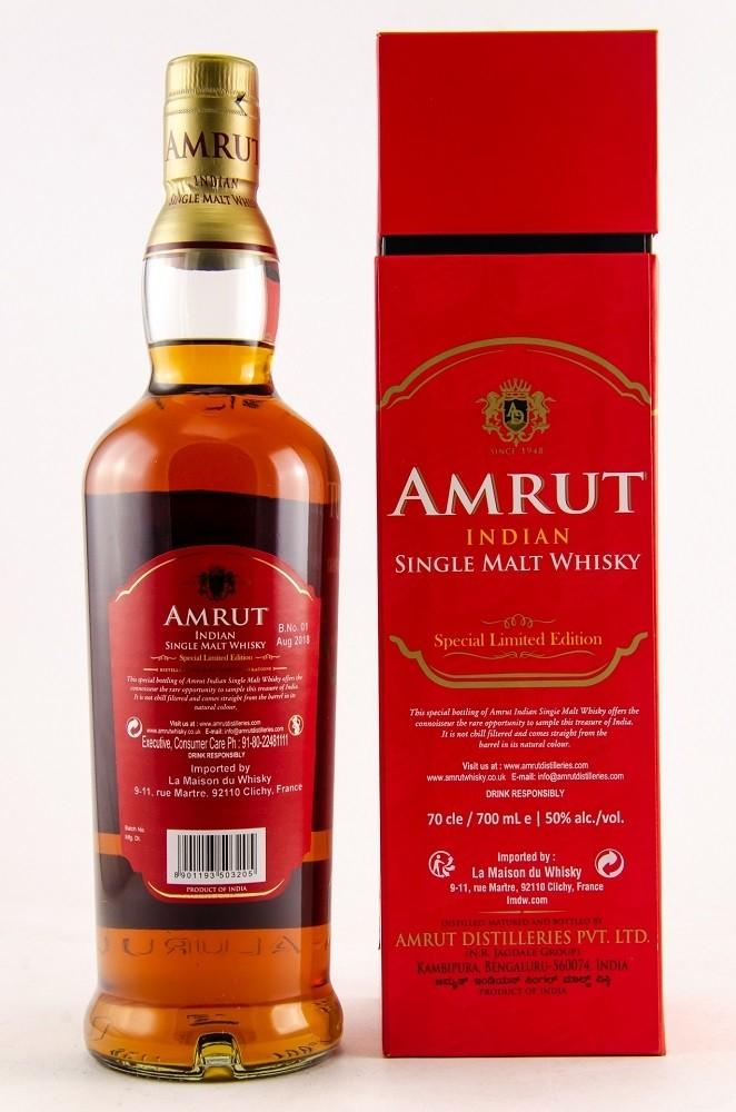 Amrut Madeira Finish Limited Edition Batch #01, 50%