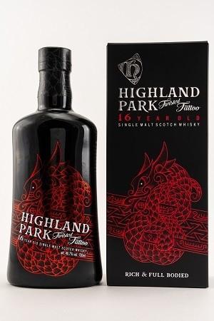 Highland Park 16 Jahre Twisted Tattoo