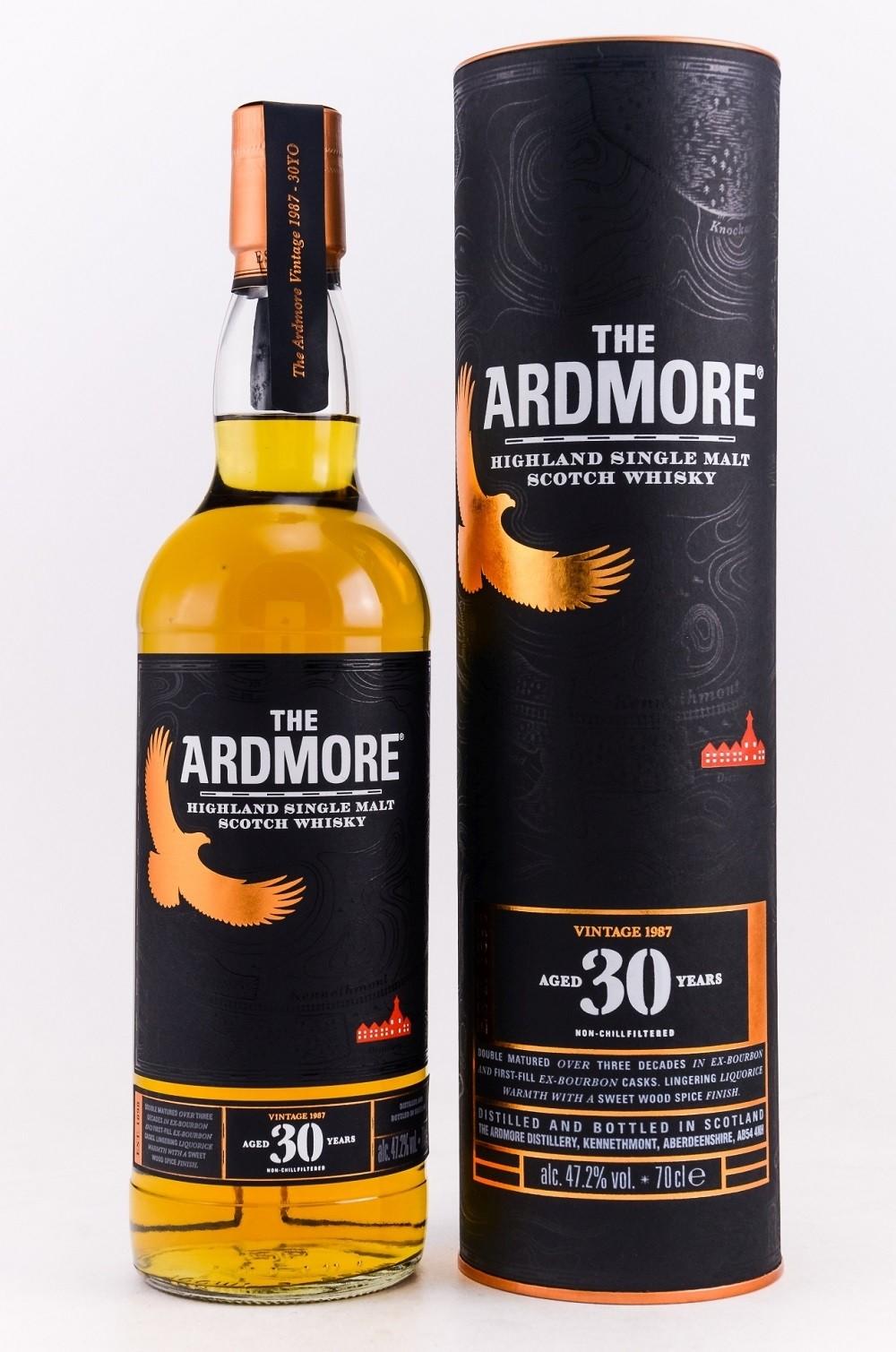 Ardmore 30 Jahre, Vintage 1987, 47,2%