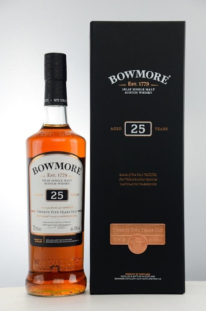 Bowmore 25 Jahre neues Design