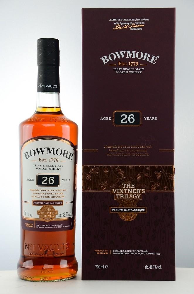 Bowmore 26 Jahre Frensch Oak, 48,7% Vintners Trilogy