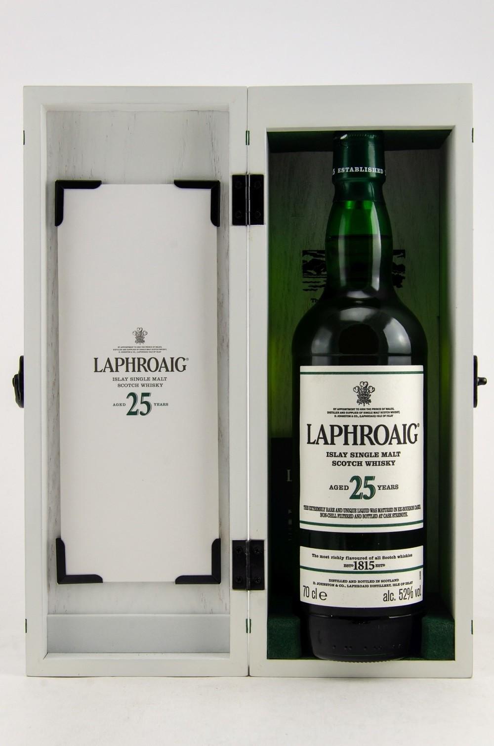 Laphroaig 25 y.o. Cask Strength 52% (2018)