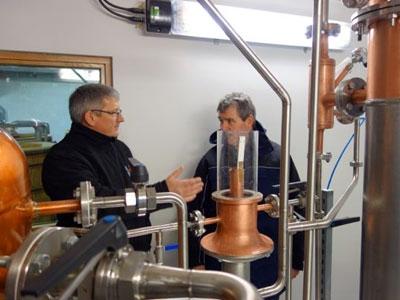 Gin-Produktion