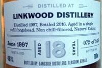 Distiller s Art: Linkwood 18 Jahre, 48%