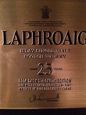 Laphroaig 25 Jahr/2014